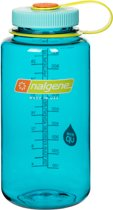 Nalgene Wide Mouth Bottle - drinkfles - 1.0 liter - BPA free - Blauw