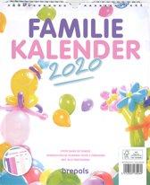 Familiekalender- Familieplanner 2020 Brepols
