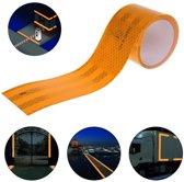Reflecterend Tape 3M Kleur Oranje (50 mm x 2 Meter)