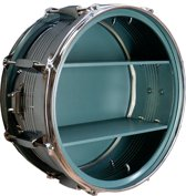 Berben Design Drum Wandkast - Turquoise - 39 x 39 x 18cm