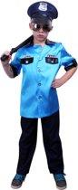 Politieagent macho - Kostuum - Maat 104
