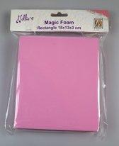 Nellies Choice Mixed Media Magic Foam rechthoek 15cmx13cm. thick 3cm