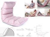 Yoga meditatie vloerstoel loungekussen roze MULTIFUNCTIONEEL