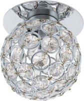 EGLO Tortoli Inbouwarmatuur - 1 Lichts - Chroom - Chroom, Helder