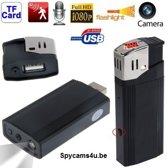Aansteker met verborgen camera full HD 1080P - Spy camera - verborgen camera