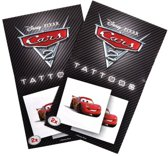Tattoos Cars 2 - 8 setjes met 2 tattoos