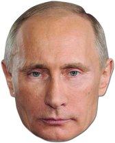 Vladimir Poetin masker van karton