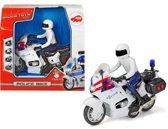 Dickie Sos Series - Politiemoto (15cm)