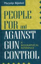 People For and Against Gun Control