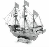 Metal Earth Modelbouw 3D Zeilschip driemaster Golden Hind - Metaal