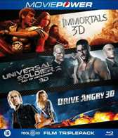 Moviepower : Action Collection (3D Blu-ray)