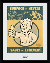 Gb Eye Poster In Lijst Fallout 4 Vault Forever 30 X 40 Cm