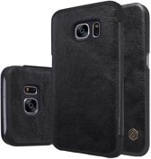 Nillkin Qin Series Leather Case Samsung Galaxy S7 - Black