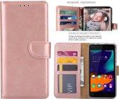 Paxx® Boek Hoesje/Book Case Wallet Rose Goud voor - Apple iPhone 6/6S - geschikt voor 3 pasjes