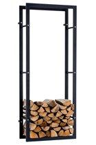 Clp Brandhout rek KERI V3 - wandrek - 80 x 25 x 100 cm