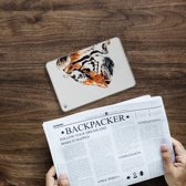 Apple iPad Mini 4 Uniek Tablethoesje Watercolor Tiger