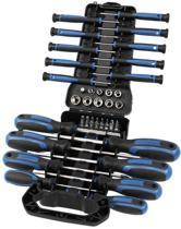 Hyundai schroevendraaiers, bits en dopsleutels - 44-delig - werkplaatsschroevendraaiers / precisieschroevendraaiers