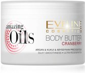 Eveline Cosmetics Amazing Oils Cranberry Body Butter 200ml.