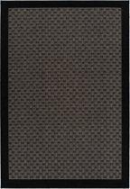 CleanWalk binnen/buiten karpet Box taupe 120 x 170 cm