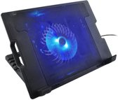Universele Laptop Fan Cooling Stand Pad - Verstelbare Notebook Cooler Standaard Koeler Ventilator Houder - 11/12/13/14/15/16/17 Inch