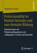 Professionalit t Im Kontext Formaler Und Non-Formaler Bildung