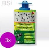 Bsi Vliegen Vangzak - Insectenbestrijding - 3 x per stuk