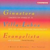 Ginastera, Villa-Lobos: Music for Strings / Yuli Turovsky, I Musici de Montreal