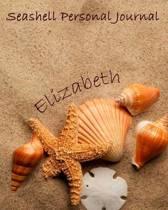 Seashell Personal Journal - Elizabeth