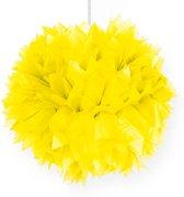 Pompom geel 30cm