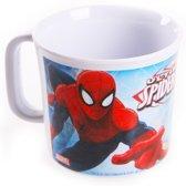 Plastic Spiderman beker 7,5 cm