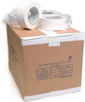 Nichiban   -  duct tape    -  50 mm x 25 m   -  Wit