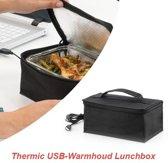 Thermic USB-Warmhoud Lunchbox – Ideaal voor op kantoor of onderweg