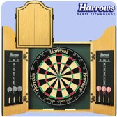 Harrows Pro's Choice Dartkabinet - Inclusief dartbord + dartpijltjes