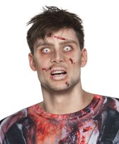 Boland Contactlens Zombie Wit Sterkte -4,00