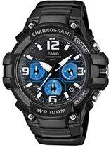 Casio MCW-100H-1A2VEF - Horloge - Kunststof - Zwart - Ø 49 mm