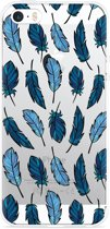 iPhone 5/5S/SE Hoesje Feathers