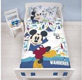Disney Mickey Mouse Wanderer junior - Dekbedovertrek - 120 x 150 cm - Multi