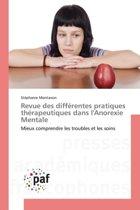 Revue Des Diff rentes Pratiques Th rapeutiques Dans l'Anorexie Mentale