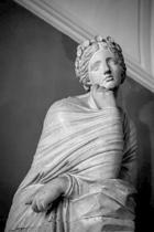 Woman in Marble Sculpture Journal: 150 Page Lined Notebook/Diary
