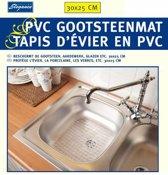 Gootsteen Mat - Gootsteenmat - Gootsteenmatje - Mat - PVC - 30x25CM