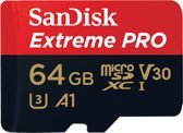 SanDisk MicroSDHC Extreme Pro 64GB 100mb / 90mb,U3,V30,A1