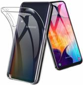 Epicmobile - Samsung Galaxy A40 Transparant silicone hoesje – Back Cover – Clear