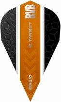 Target Ultra Raymond van Barneveld Vapor Stripe Black Orange  Set à 3 stuks
