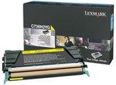 Lexmark Tonercartridge 0C736H2YG Geel