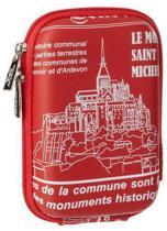 Riva 7103 (PU) Digital Case red Saint Michel (travel)
