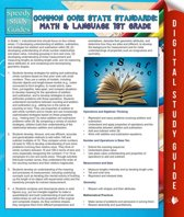 Common Core State Standards: Math And Language 1st Grade