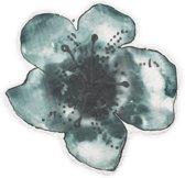 Elodie Details Bamboe Hydrofiele doek (80x80 cm) - Embedding Bloom Petrol