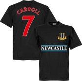Newcastle United Carroll 7 Team T-Shirt - Zwart - XXXL