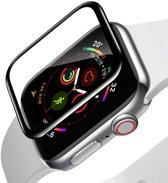 Baseus Full Cover Tempered Glass Apple Watch 44mm Protector - Black