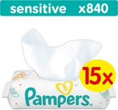 Pampers Sensitive - 840 Stuks (15x56) - Billendoekjes
